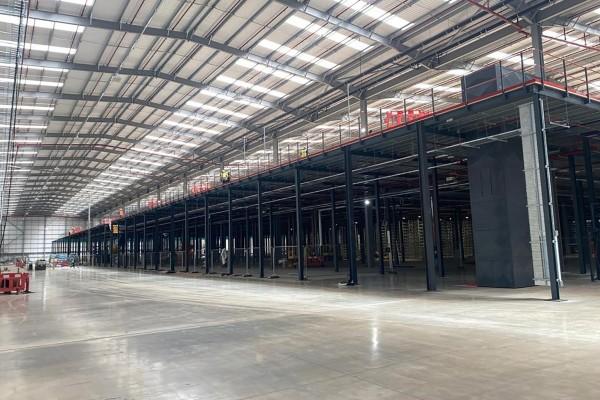 Mezzanine Flooring for an ecommerce business
