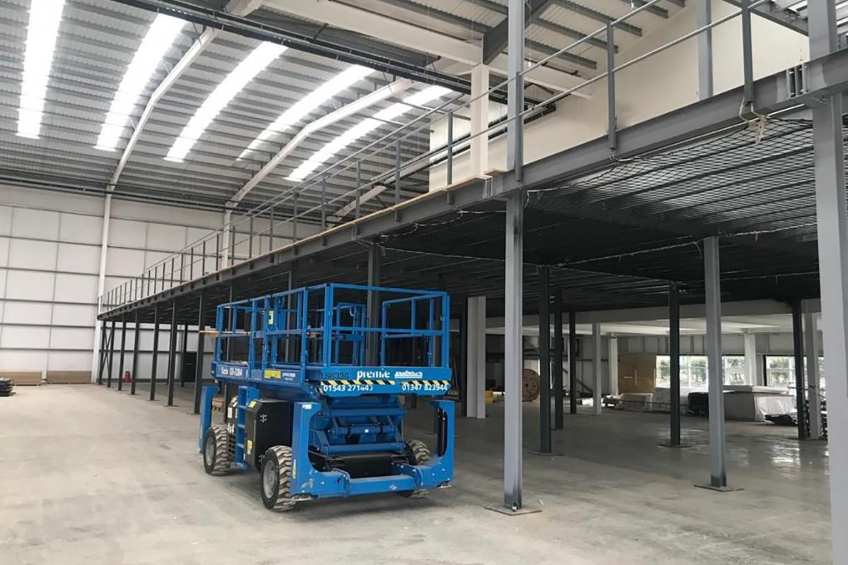Mezzanine Flooring For Online Retailer