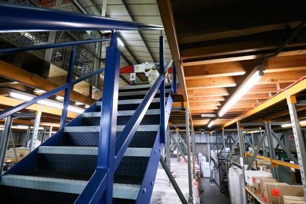 Mezzanine flooring upgrades for a specialist trade merchant