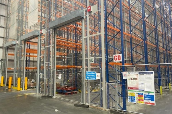 Protecting Tesco's Warehouse Racking