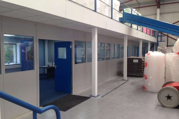 Relocation, Design and Fitout for a packaging supplies firm