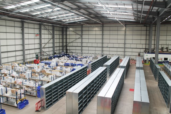 Creating a more efficient Shelving system for Unipart
