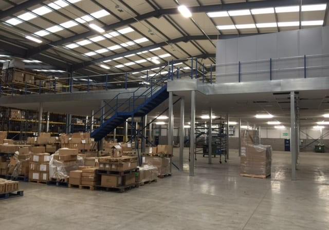 Mezzanine flooring removals & relocation